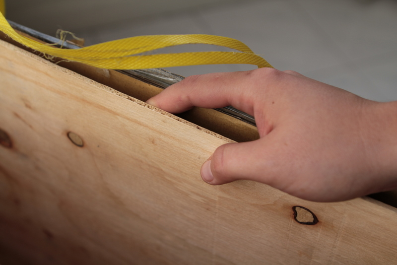 Plywood sheets for lining box